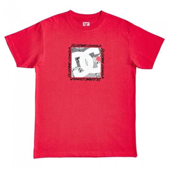 [해외]DC슈즈 Big Dc Square 14137588846 Racing Red