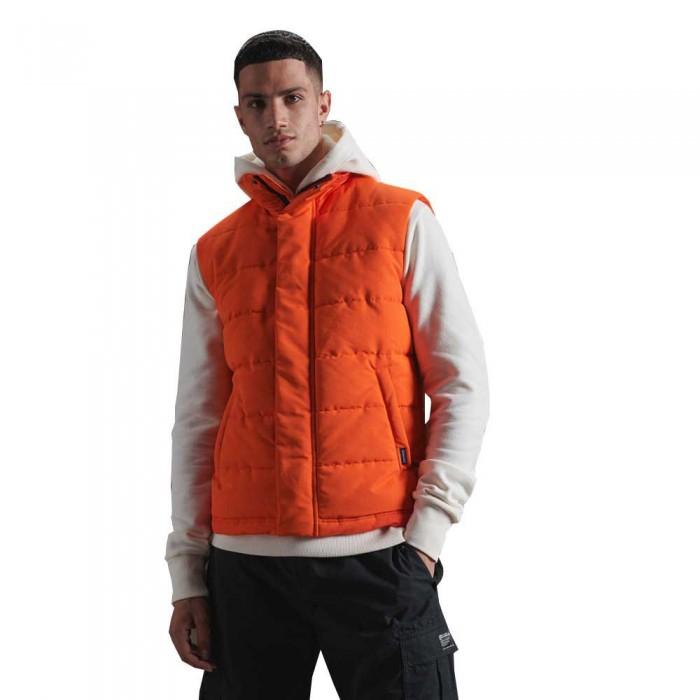 [해외]슈퍼드라이 Everest Gilet 137560003 Orange