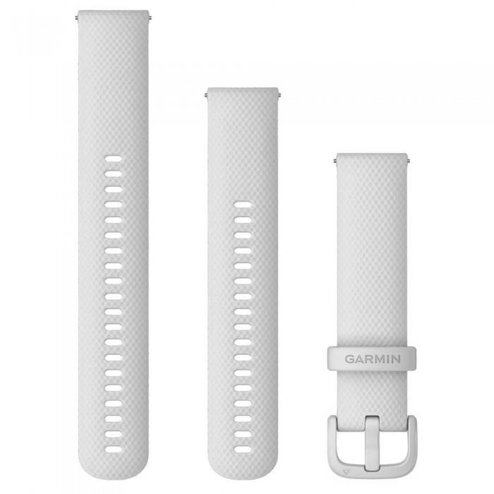[해외]가민 Quick Release Bands 20 mm 6137806554 White