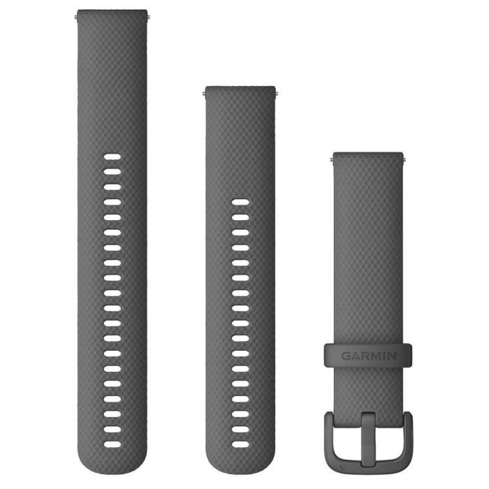 [해외]가민 Quick Release Bands 20 mm 6137806555 Shadow Grey