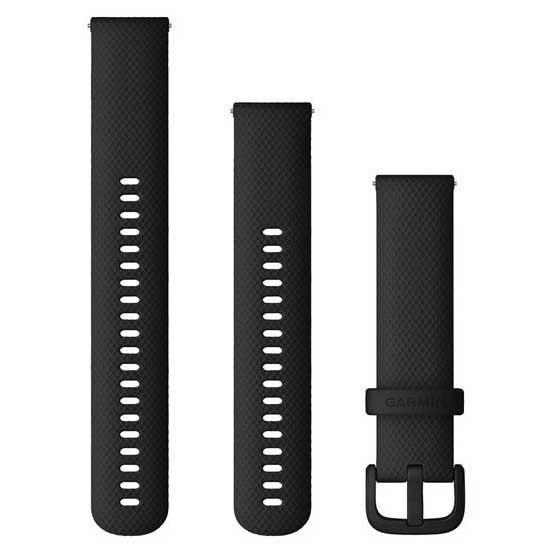 [해외]가민 Quick Release Bands 20 mm 6137806557 Black