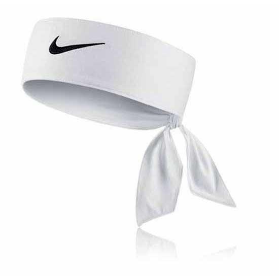 [해외]나이키 ACCESSORIES Dri Fit Head Tie 2.0 61328357 White / Black