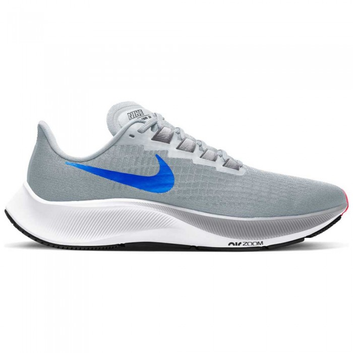 [해외]나이키 Air Zoom Pegasus 37 Man6137482845 Pure Platinum / Racer Blue / Wolf Grey