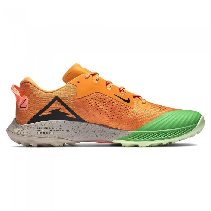 [해외]나이키 Air Zoom Terra Kiger 6 Man6137712169 Kumquat / Black / Atomic Pink / Green Spark
