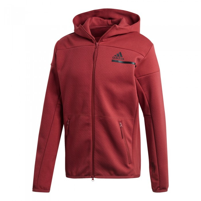 [해외]아디다스 ZNE Full Zip 6137667998 Legacy Red / Legacy Red