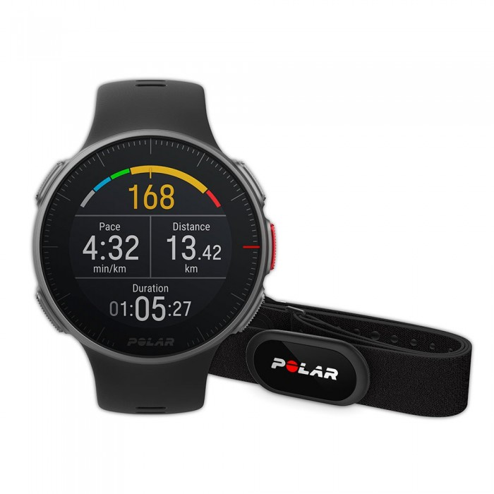 [해외]POLAR Vantage V HR 12137007512 Black