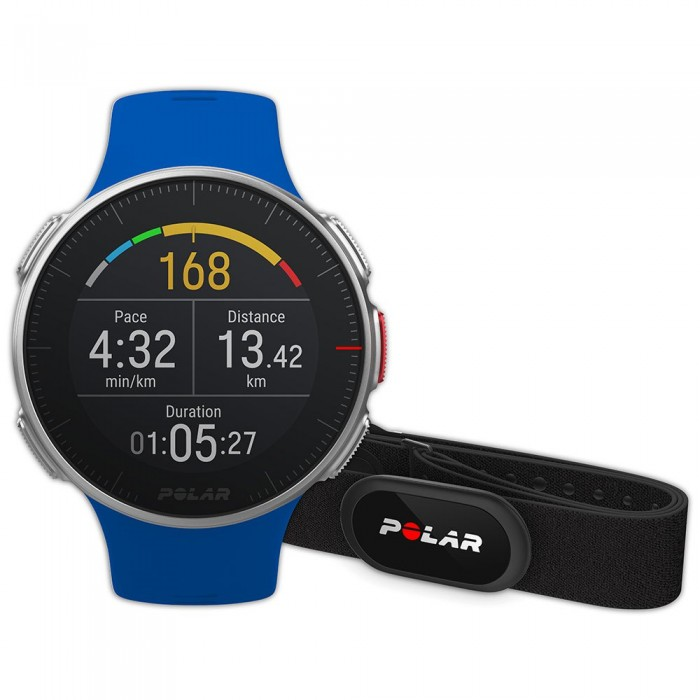 [해외]POLAR Vantage V HR 12137317052 Blue