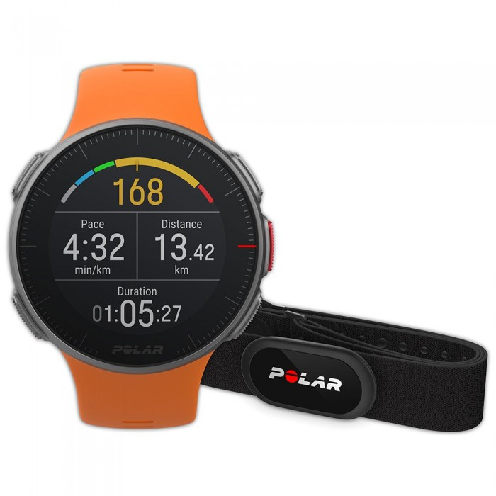 [해외]POLAR Vantage V HR 12137317053 Orange