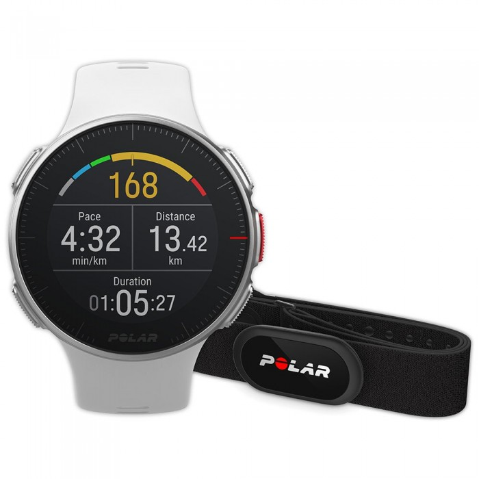 [해외]POLAR Vantage V HR 12137317054 White