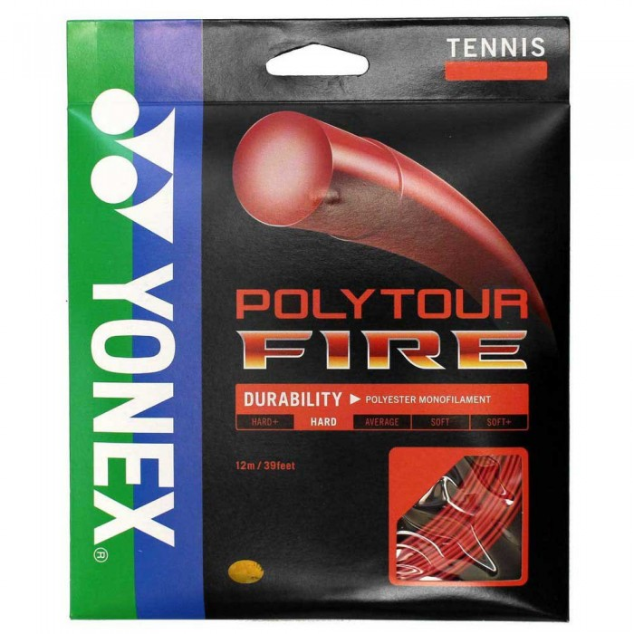 [해외]YONEX Poly Tour Fire 12 m 12137714498 Red