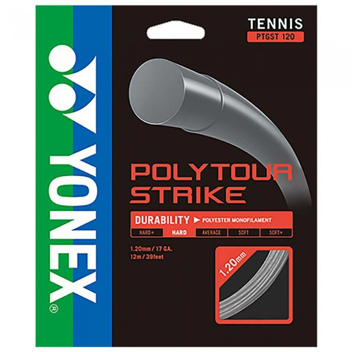 [해외]YONEX Poly Tour Strike 200 m 12137815891 Iron Grey