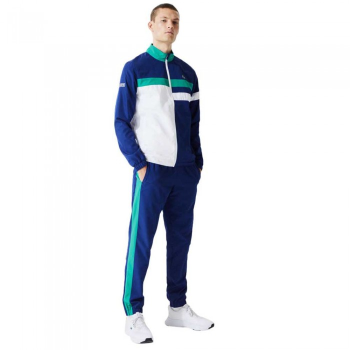 [해외]라코스테 Sport Lightweight Colourblock 12137685362 Blue / White / Green