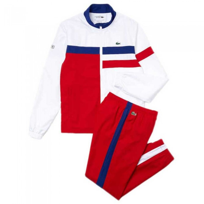[해외]라코스테 Sport Lightweight Colourblock 12137685363 Red / White / Blue / Black