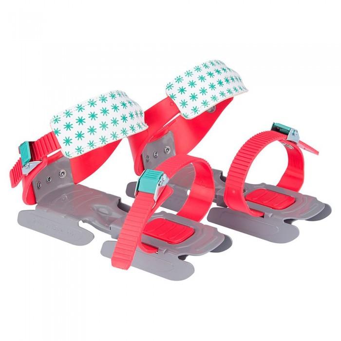 [해외]NIJDAM Adjustable Bob Skates 14137797470 Coral / Grey / Mint Green