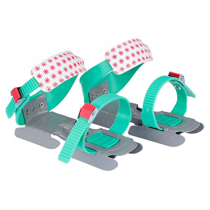 [해외]NIJDAM Adjustable Bob Skates 14137797499 Mint Green / Grey / Coral