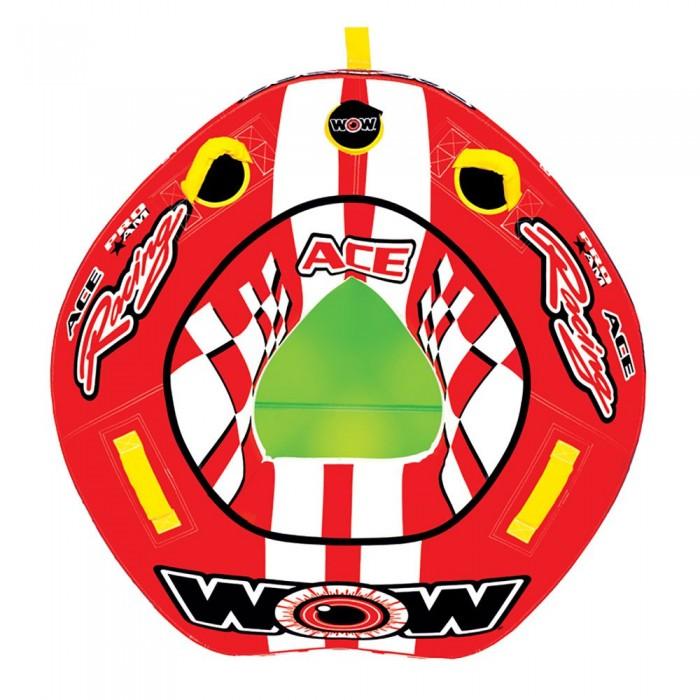 [해외]WOW Ski Tube Ace Racing 14137796636 Red