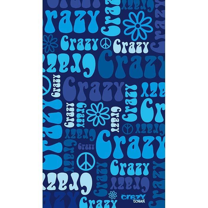 [해외]STT SPORT Crazy Towel Crazy Hippie Terry Loop 14136302647 Blue
