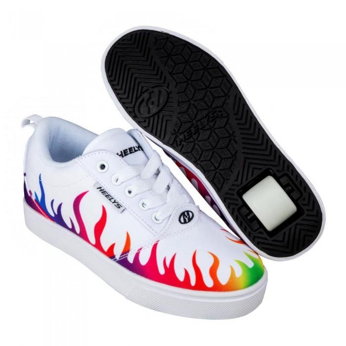 [해외]HEELYS Pro 20 Prints Man14137740525 White / Rainbow Flames