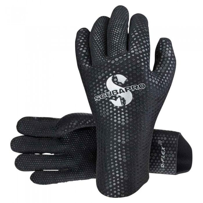 [해외]스쿠버프로 D Flex Glove 2 mm 10135899990 Black
