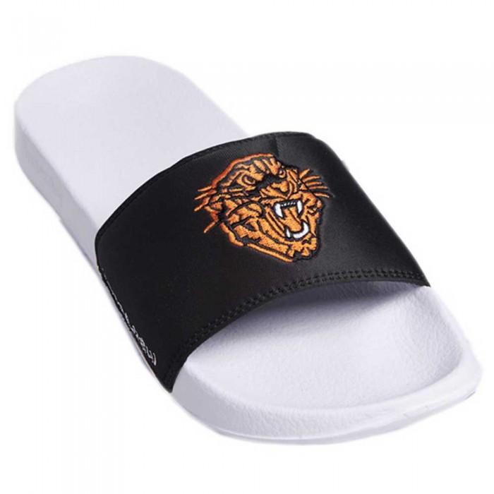 [해외]슈퍼드라이 Tiger Pool Slide Man137561371 Black