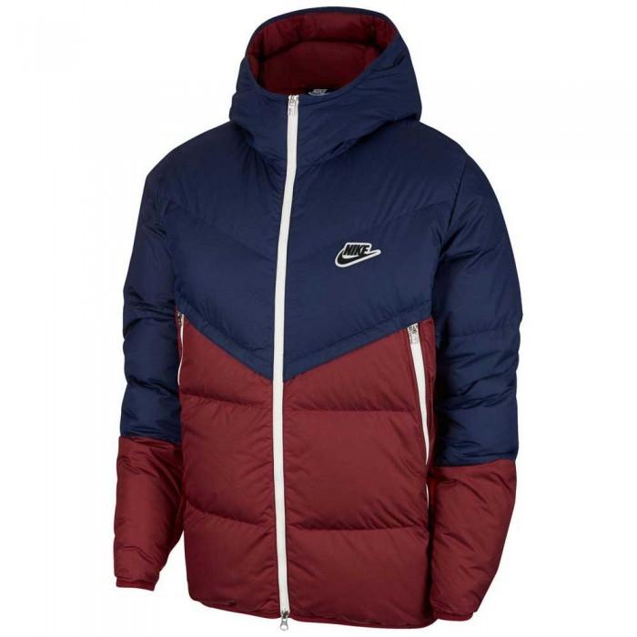 [해외]나이키 Sportswear Down Fill Windrunner 137483630 Midnight Navy / Dark Beetroot / Black