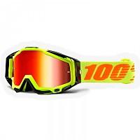 [해외]100% Racecraft 2 Mirrored 1137622938 Yellow