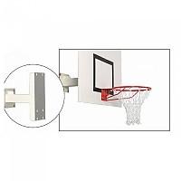 [해외]POWERSHOT Wall Mounted Basketball Hoop 3137817510 White