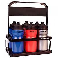 [해외]AVENTO 6 Bottles Foldable Carrying Rack 3137542729 Black