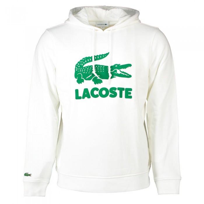 [해외]라코스테 Flocked Graphic Crocodile 137648585 White