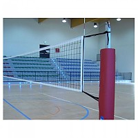[해외]POWERSHOT Volleyball Post Round Protection Foam 2 Units 3137842598 Red