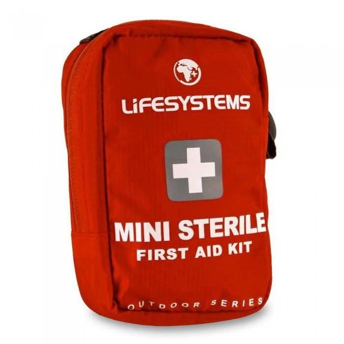 [해외]LIFESYSTEMS Mini Sterile First Aid Kit 14135876444 Red