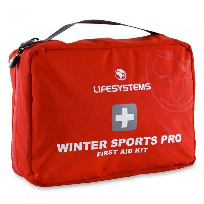 [해외]LIFESYSTEMS Winter Sports Pro First Aid Kit 14135876479 Red