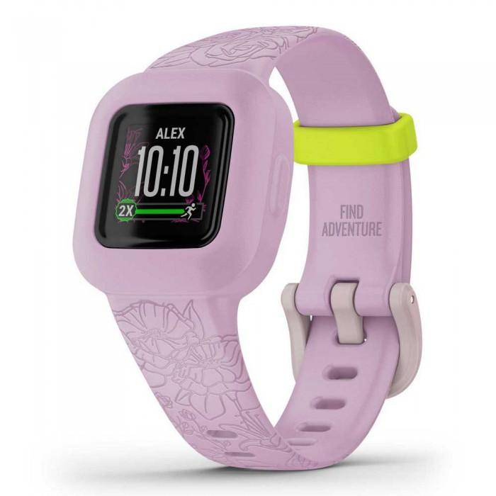 [해외]가민 Vivofit Junior 3 Smartwatch 14137824419 Floral Pink