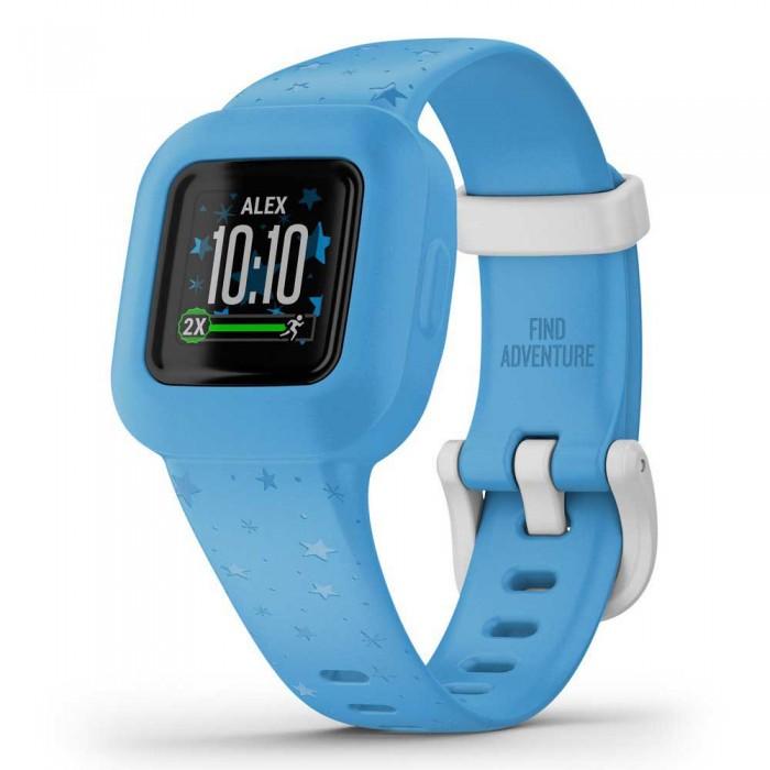 [해외]가민 Vivofit Junior 3 Smartwatch 14137824420 Stars Blue