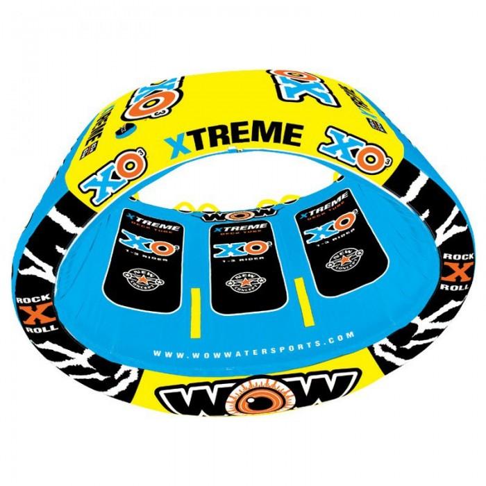[해외]WOW Ski Tube XO Extreme 14137796644 Blue / Yellow