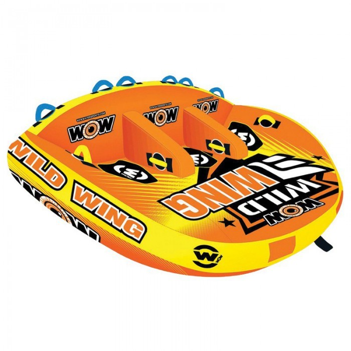 [해외]WOW Ski Tube Wild Wing 14137796647 Yellow / Orange