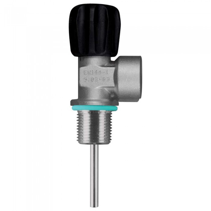 [해외]OMS Comptec DIN Valve 230 Bar Mono M25/2 10137739589 Silver / Black
