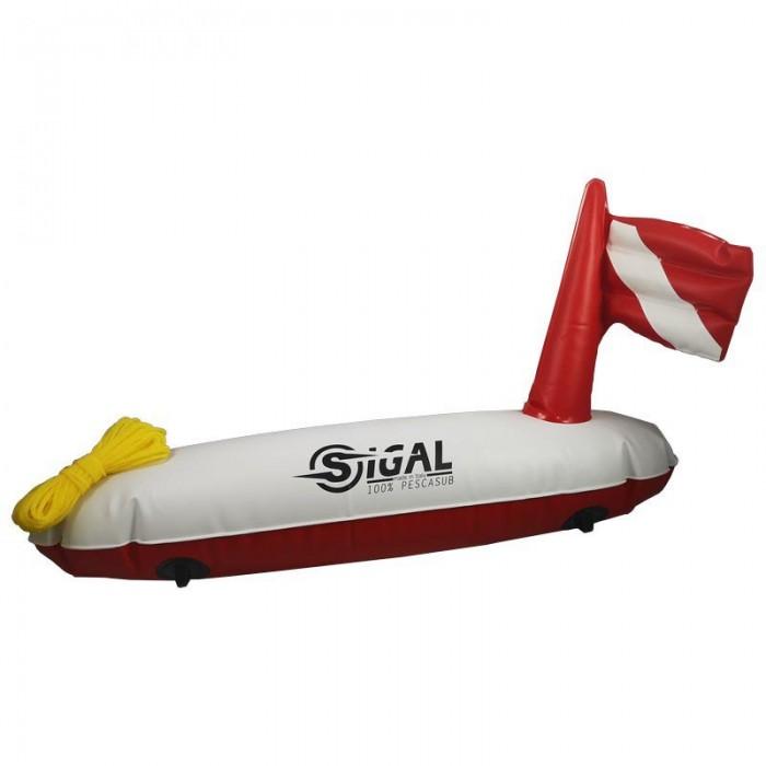 [해외]시갈섭 Torpedo 10137724233 Red / White