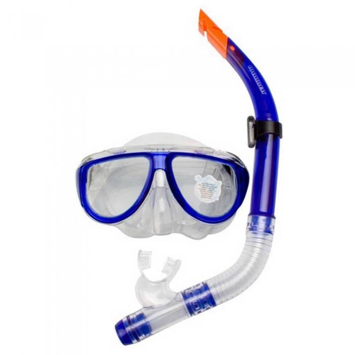 [해외]WAIMEA Diving Mask with Snorkel 10137618924 Cobalt Blue