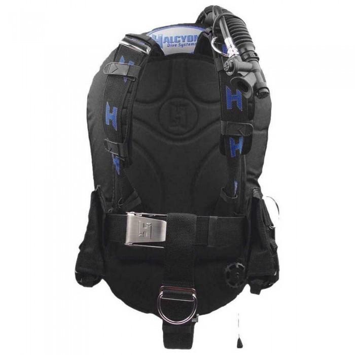 [해외]HALCYON Infinity 40 Standard AL Backplate Convertible STA 10137167389 Black