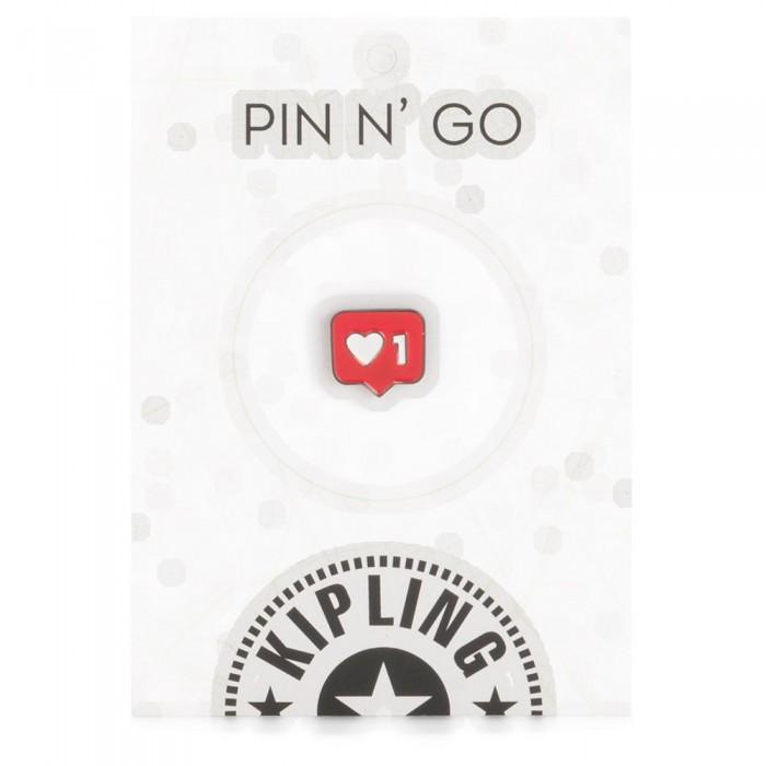 [해외]키플링 Heart 1 Pin 137779234 Mix Col Ss20