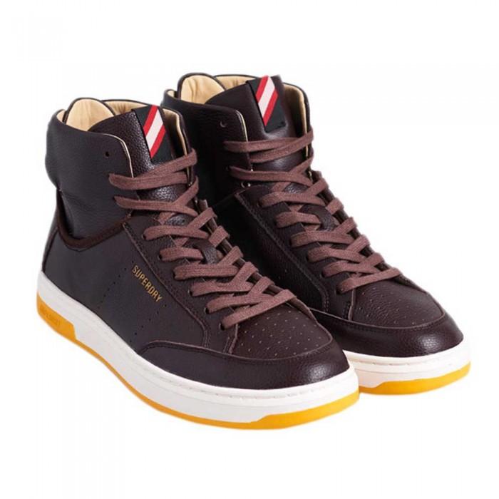 [해외]슈퍼드라이 Premium Basket Lux Man137561287 Dark Brown
