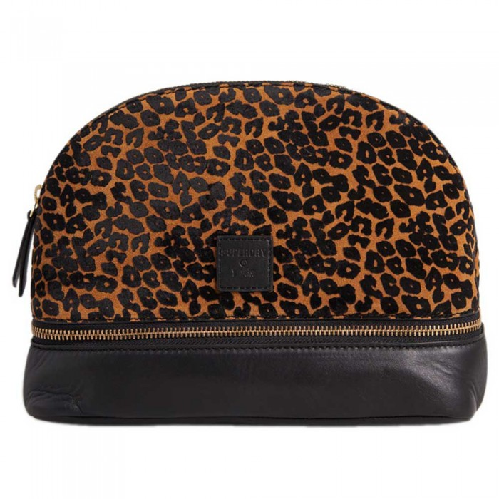 [해외]슈퍼드라이 Make Up Bag 137776560 Leopard Print