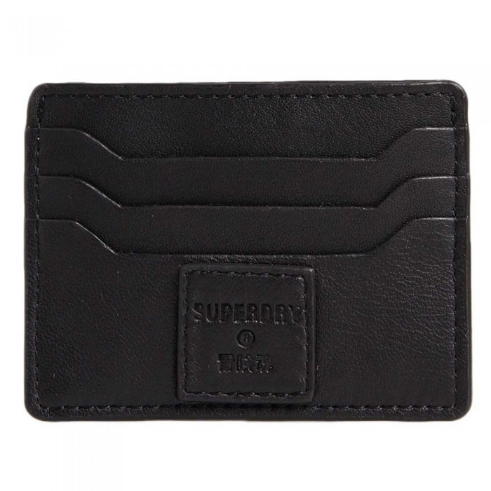 [해외]슈퍼드라이 Card Holder & Key Ring Set 137776567 Black