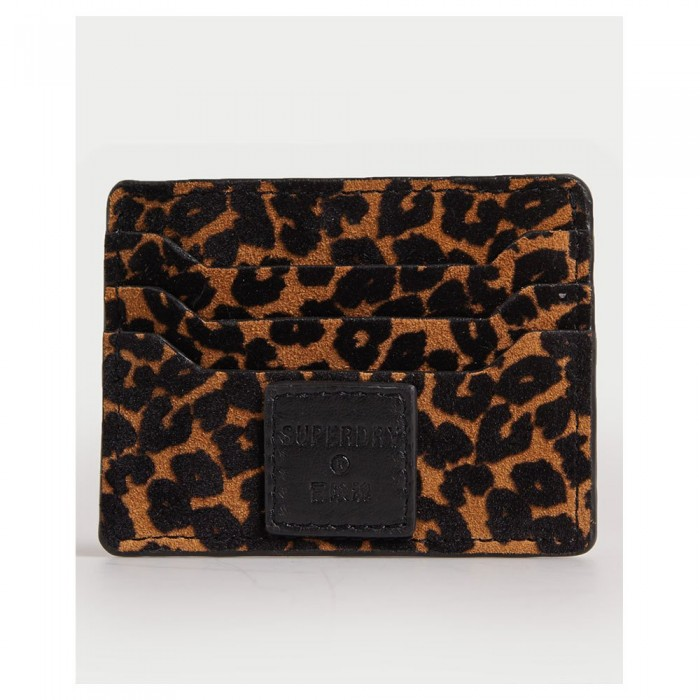 [해외]슈퍼드라이 Card Holder & Key Ring Set 137776568 Leopard Print