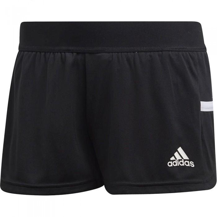 [해외]아디다스 BADMINTON Team 19 Running Short Pants 12137711894 Black / White
