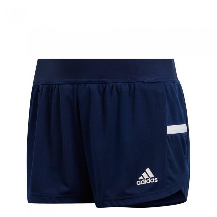 [해외]아디다스 BADMINTON Team 19 Running Short Pants 12137712021 Navy Blue / White