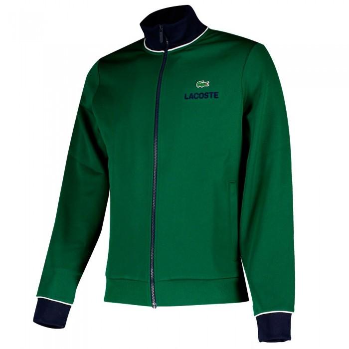 [해외]라코스테 Sport Contrast Accents Print 12137648574 Green / Navy Blue / White