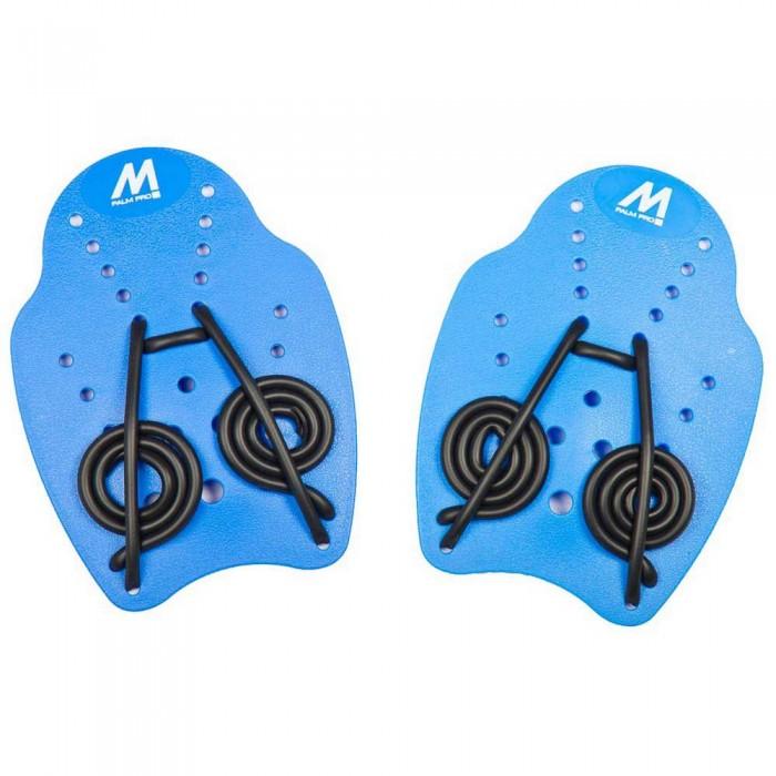 [해외]MOSCONI Palm Pro Swimming Paddles 6136387198 Blue