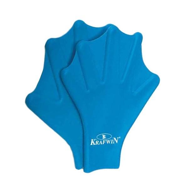 [해외]KRAFWIN Silicone Swimming Paddles 6137542571 Blue